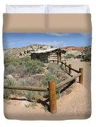 Wolfes Ranch - Arches Nationalpark Duvet Cover