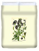 Wolfsbane Duvet Cover by Georgia Fowler