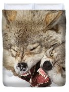 Wolves Rules Duvet Cover