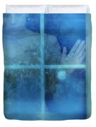 Woman At A Window Duvet Cover