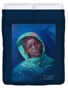 Woman From Darfur Duvet Cover