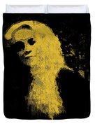 Woman In The Dark Duvet Cover