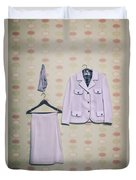 Woman's Clothes Duvet Cover by Joana Kruse