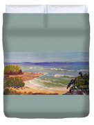Wombarra Beach Duvet Cover
