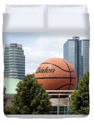 Women's Basketball Hall Of Fame Knoxville Tennessee Duvet Cover