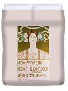 Womens Edition Buffalo Courier Duvet Cover