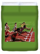 Womens Hurdles 3 Duvet Cover