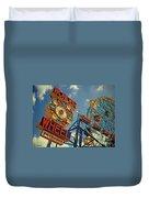 Wonder Wheel - Coney Island Duvet Cover
