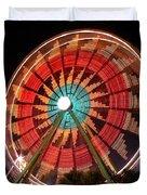 Wonder Wheel - Slow Shutter Duvet Cover