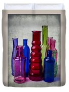Wonderful Glass Bottles Duvet Cover