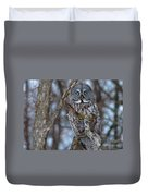 Wonderful Great Gray Duvet Cover