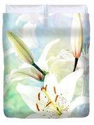 Wonderful Lilies Duvet Cover
