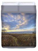 Wonderful Sunset Duvet Cover