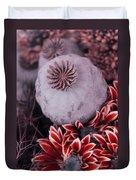 Wonderworld Of Flowers Duvet Cover