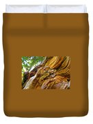 Wood Creature Duvet Cover by John Malone