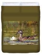 Wood Duck Duvet Cover