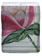 Wood Flower Duvet Cover