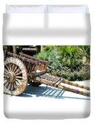 Wood Hand Cart II Duvet Cover