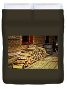 Wood Duvet Cover by Marty Koch