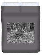 Wood Spoke Wheel Duvet Cover