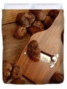 Wood Truffle Slicer Duvet Cover