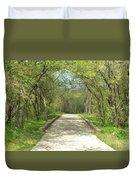 Walking In The Park Duvet Cover