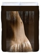 Wooded Belly Duvet Cover