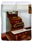 Wooden Cash Register Duvet Cover