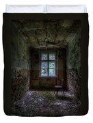 Wooden Chair Room Duvet Cover