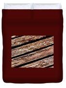 Wooden Deck Duvet Cover