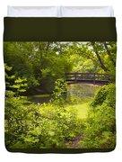 Wooden Foot Bridge Duvet Cover