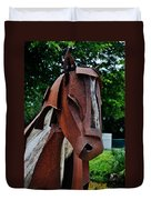 Wooden Horse12 Duvet Cover
