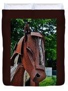Wooden Horse13 Duvet Cover
