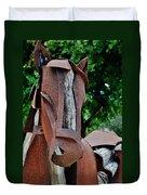 Wooden Horse15 Duvet Cover