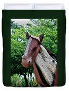 Wooden Horse20 Duvet Cover