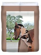 Wooden Horse26 Duvet Cover