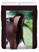 Wooden Horse5 Duvet Cover