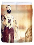 Wooden Man Duvet Cover