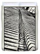 Wooden Sculpture In Palm House Kew Gardens Duvet Cover
