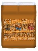 Wooden Shoes Duvet Cover