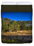 Woodland And Marsh Duvet Cover by Marvin Spates