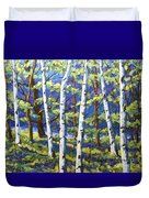 Woodland Birches Duvet Cover