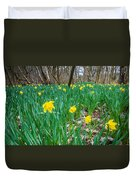 Woodland Daffodils Duvet Cover
