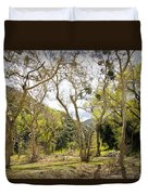 Woodland Glen In The California Vallecito Mountains Duvet Cover