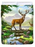 Woodland Harmony Duvet Cover