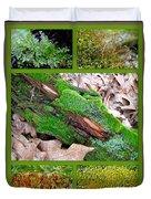 Woodland Mosses Duvet Cover