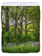 Woodland Phlox 2 Duvet Cover