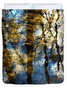 Woodland Reflections Duvet Cover by Shawna Rowe