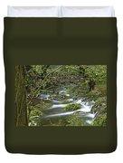 Woodland Stream - Monk's Dale Duvet Cover
