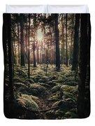 Woodland Trees Duvet Cover